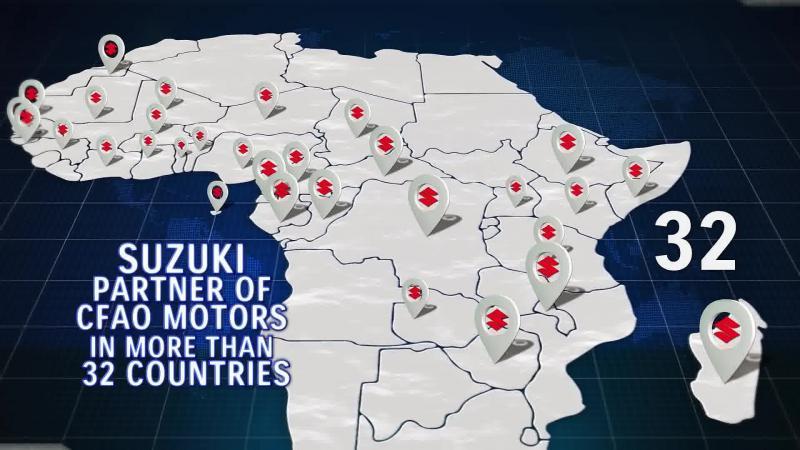 Le groupe CFAO en Afrique